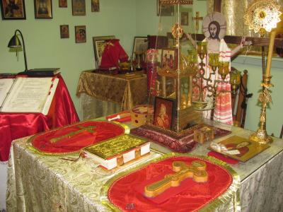 Holy Table at St Joseph of Optina parish