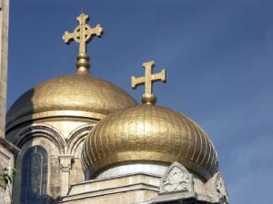 Orthodox golden domes
